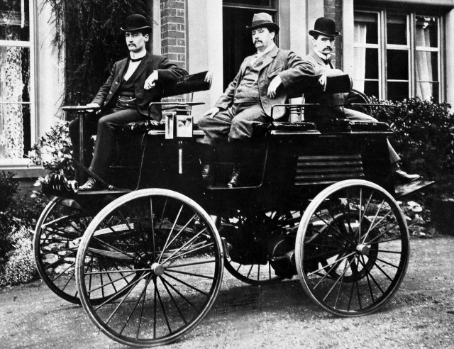 elektromobil thomas parker 1884