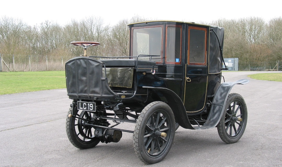 krieger electric brougham 1904
