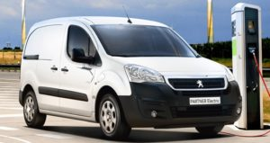 Peugeot partner furgon electric dotacia