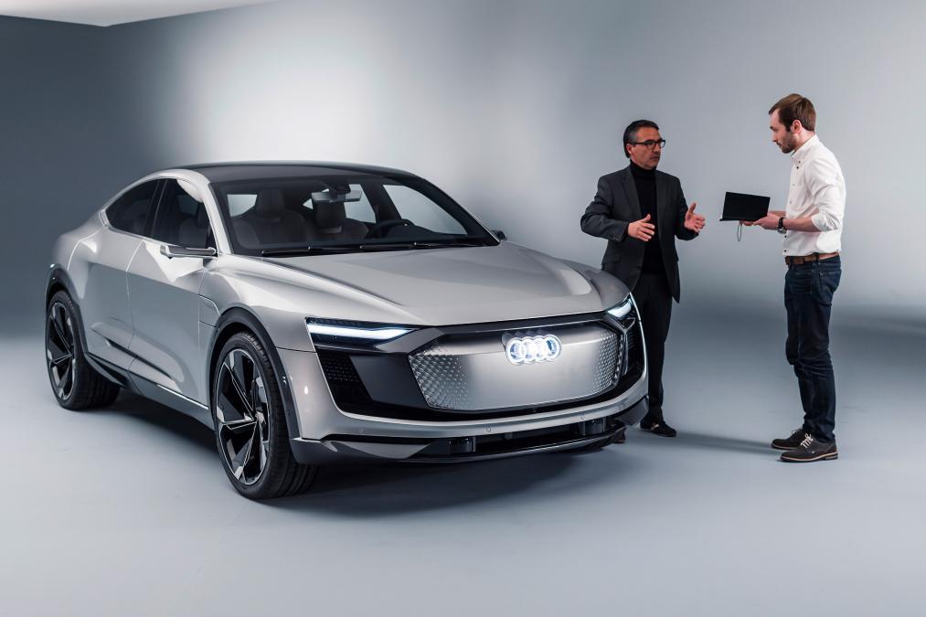 audi e-tron sportback audi elektrifikovane modely 2025