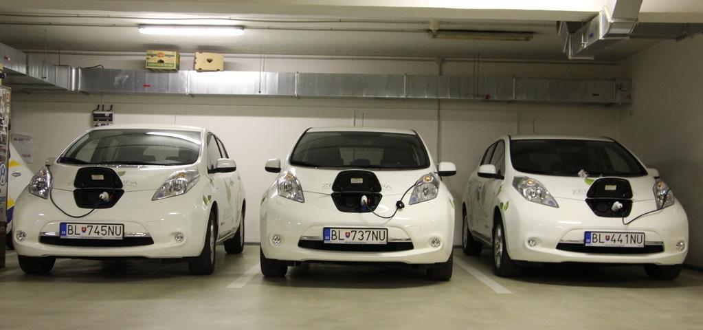 elektromobily trenciansky samospravny kraj nissan leaf nabijanie