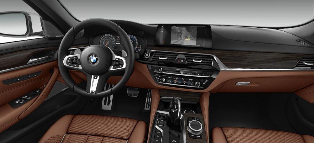 BMW 530e iPerformance - M-Packet interiér