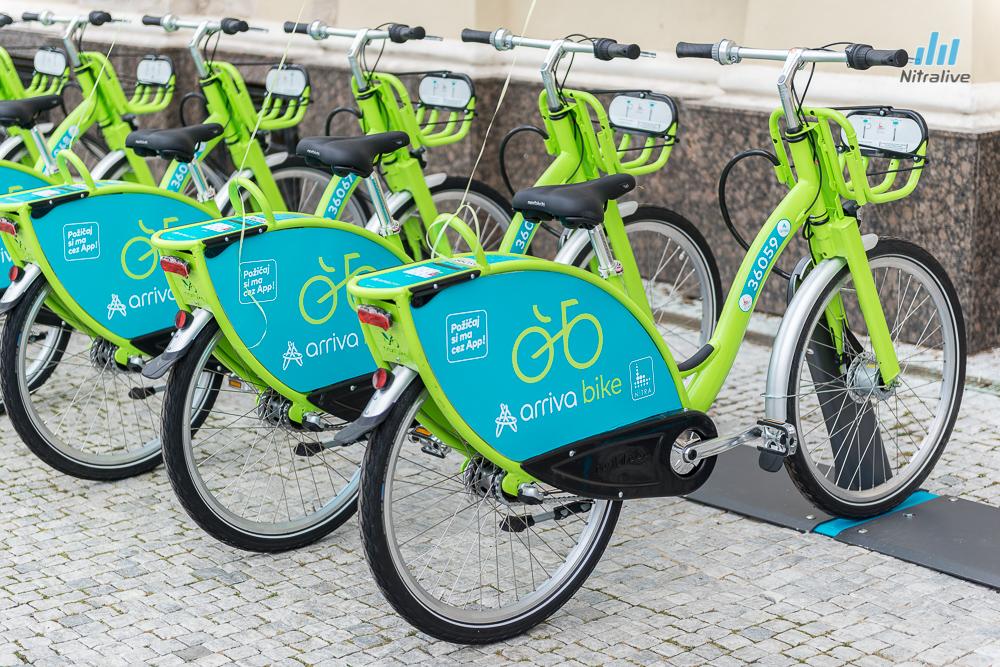 bike sharing nitra