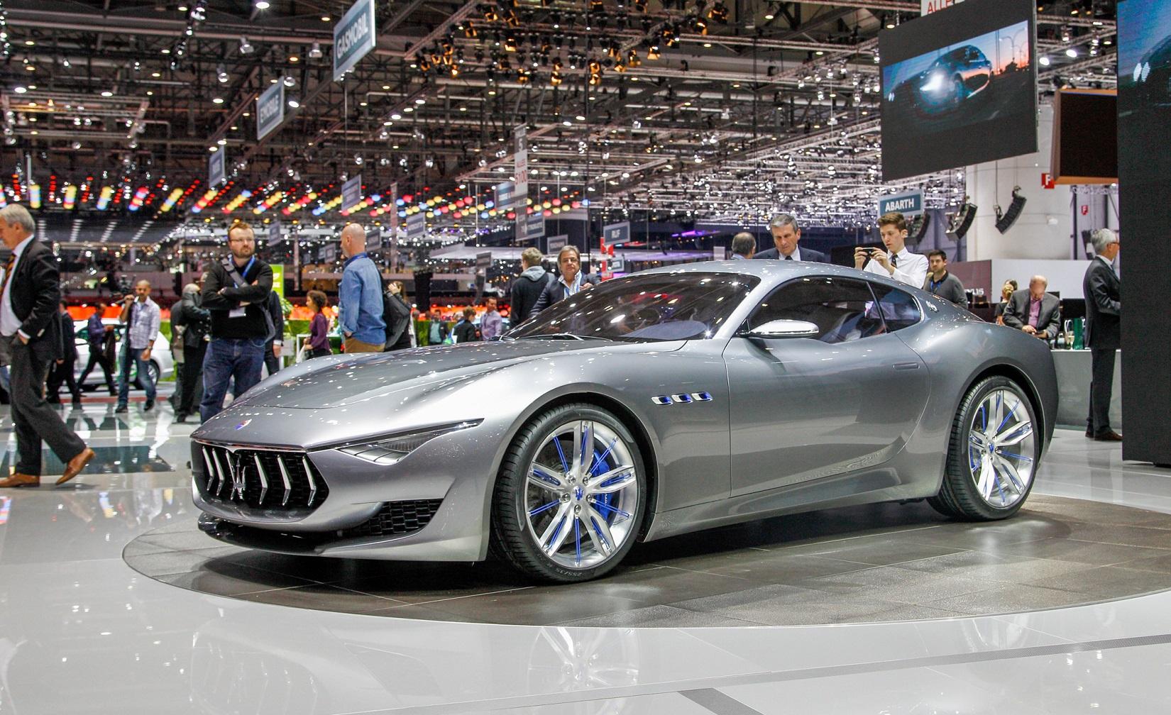 maserati elektromobily plug-in hybridy Maserati Alfieri concept