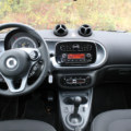 smart forfour electric drive interier