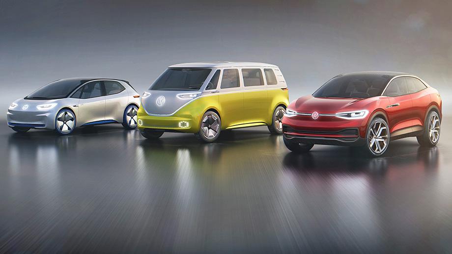 volkswagen elektromobily cina