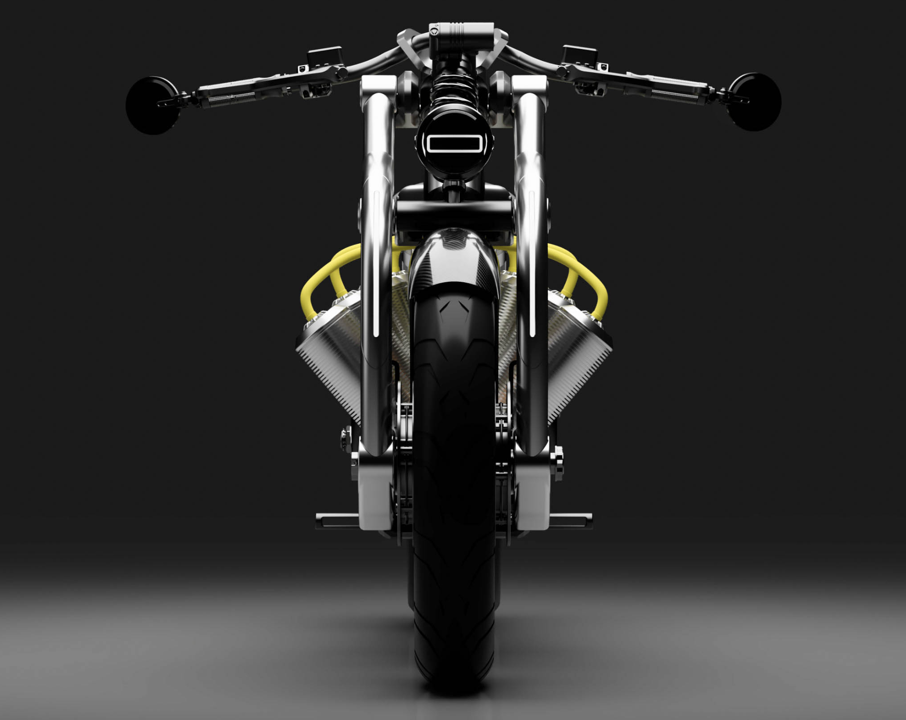 Predok motocyklu Curtiss Zeus