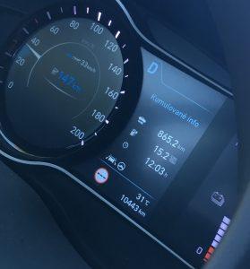 Hyundai Kona EV spotreba