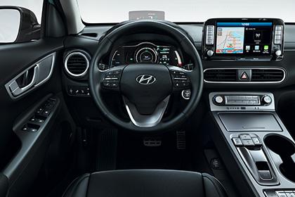 Hyundai kona ev interier