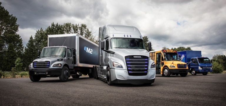 Daimleru - Freightliner eCascadia