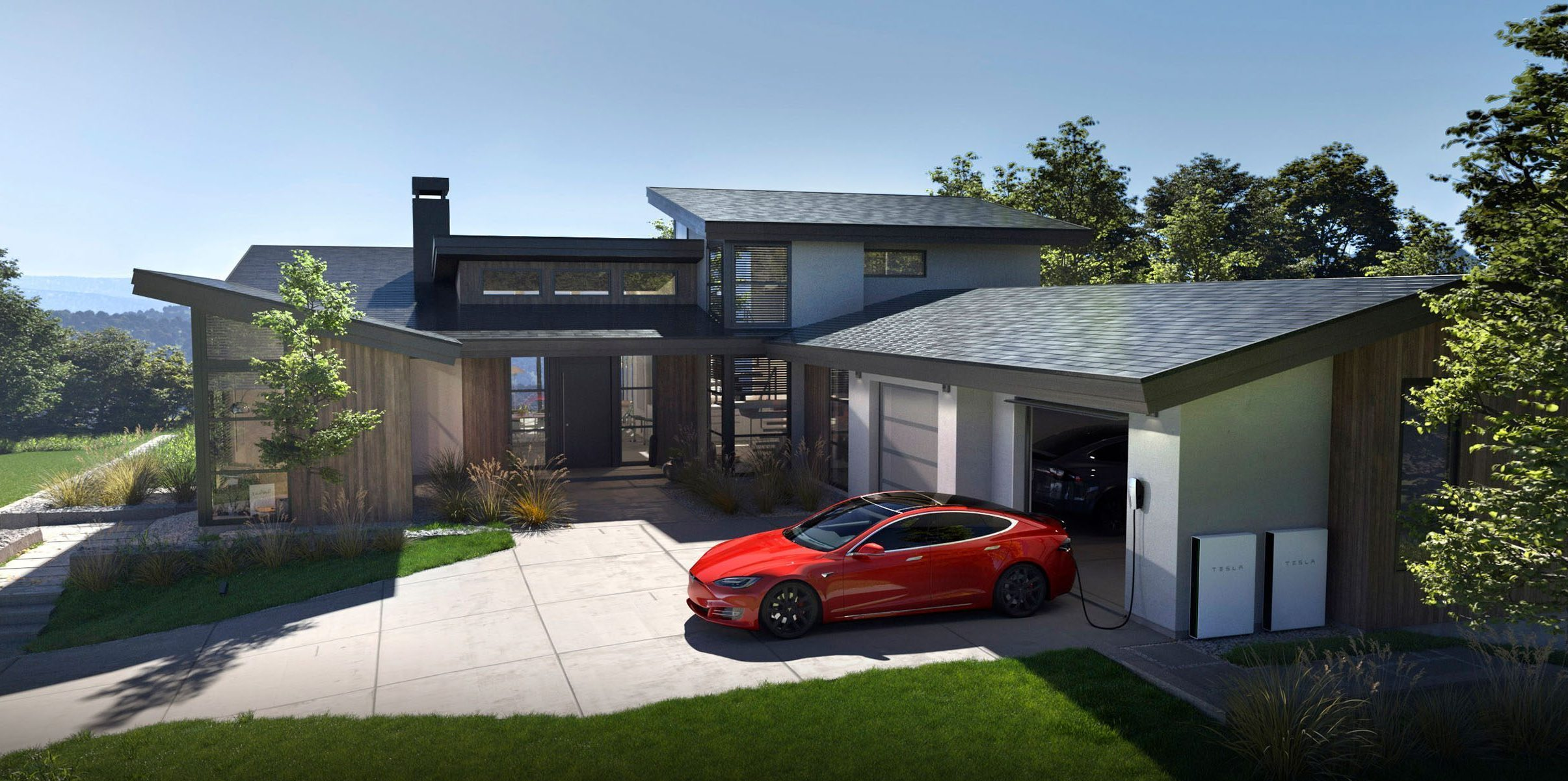 solárna strecha Tesla Solar Roof