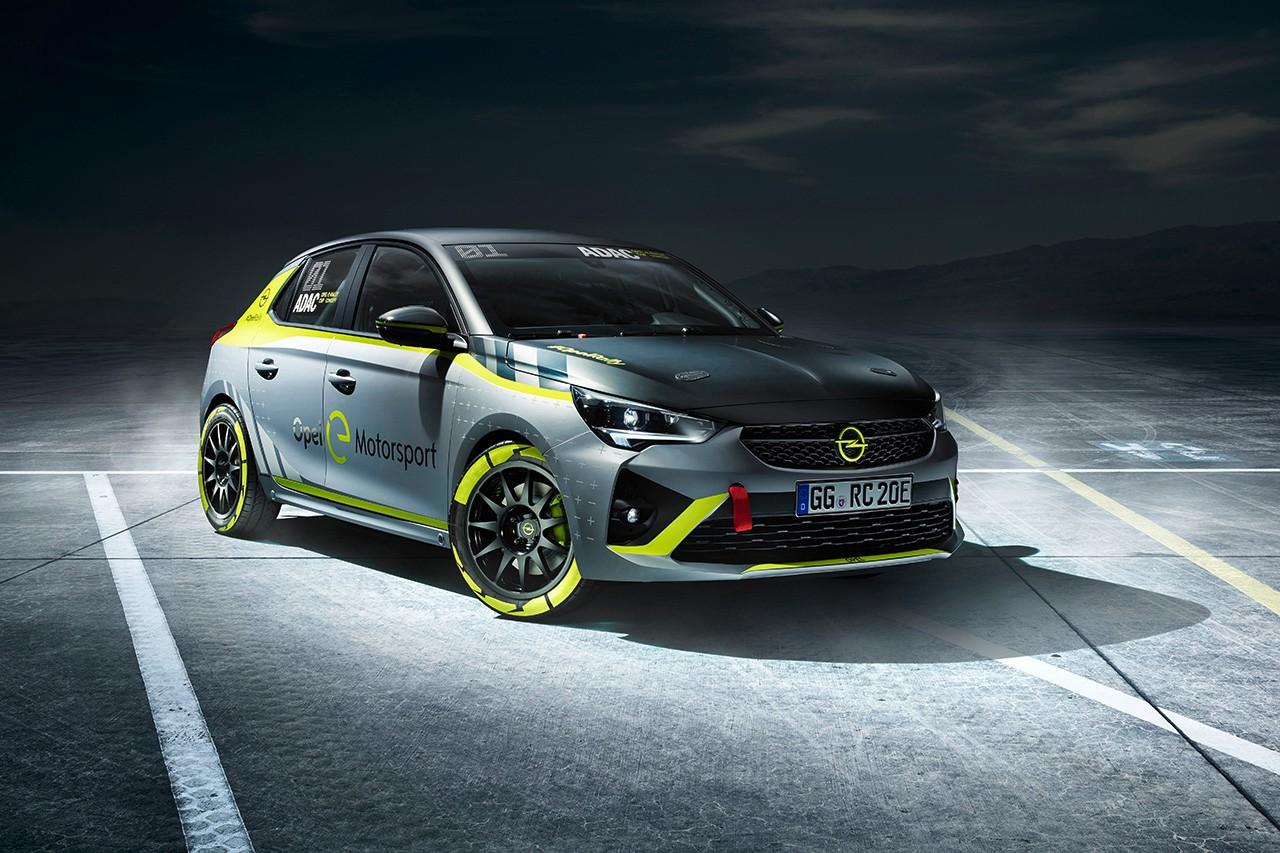 Opel Corsa-e predný strana