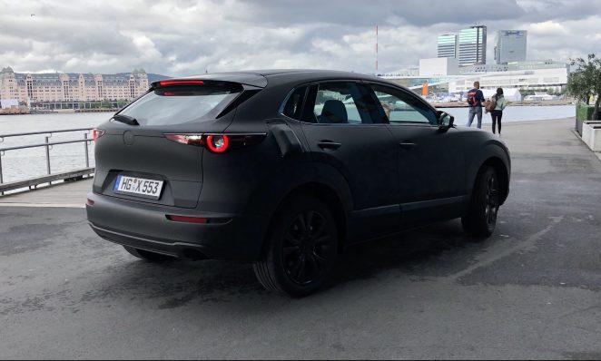 Elektromobil od Mazdy v Nórsku
