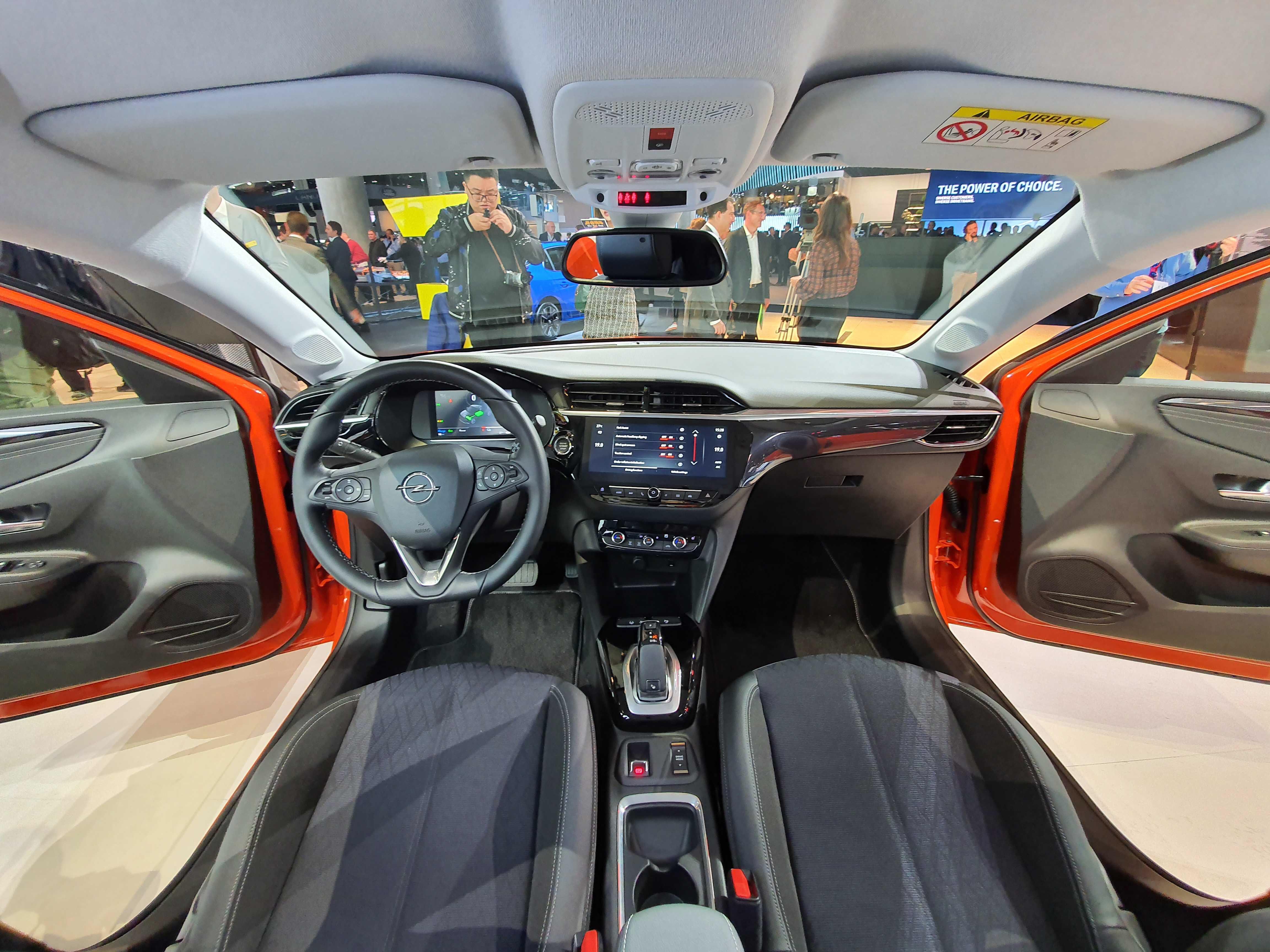 Interié Opel Corsa-e