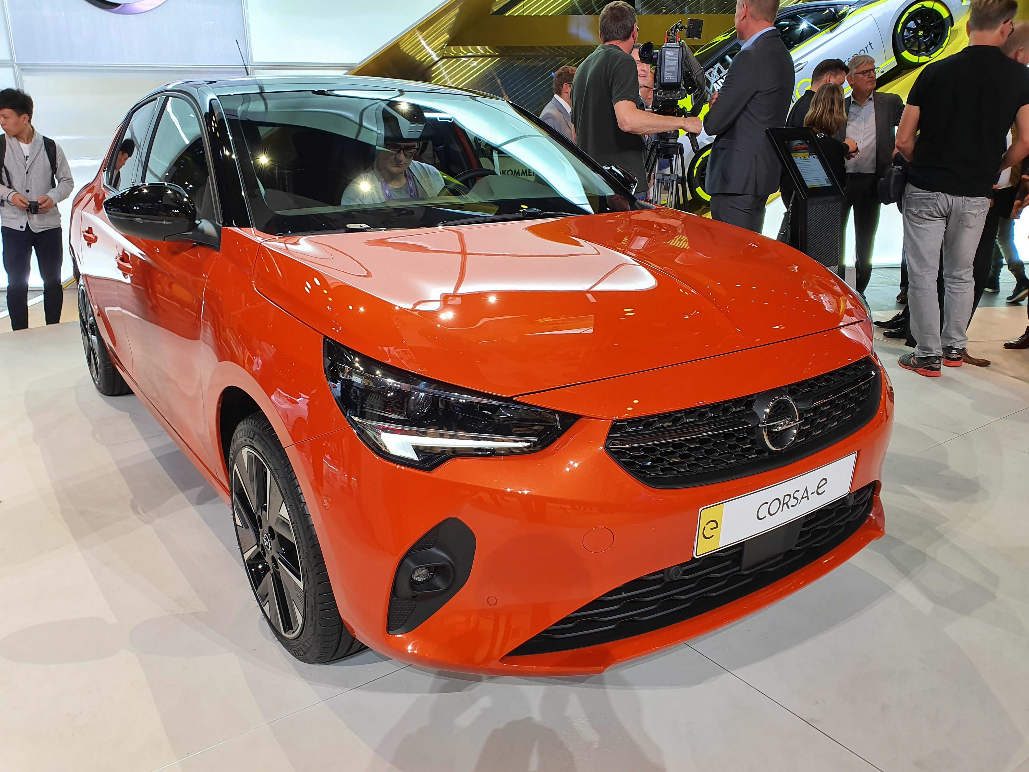 Nabíjanie Opel Corsa-e