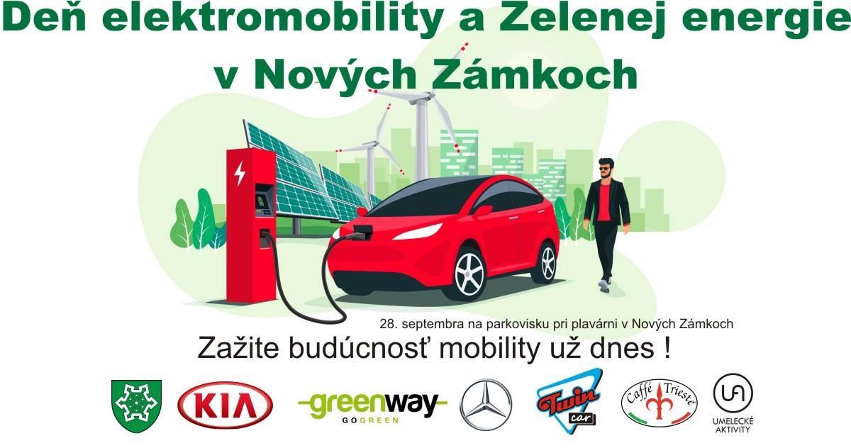 Deň elektromobility a zelenej energie v Nových Zámkoch