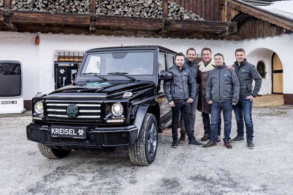 Elektrický Mercedes triedy G
