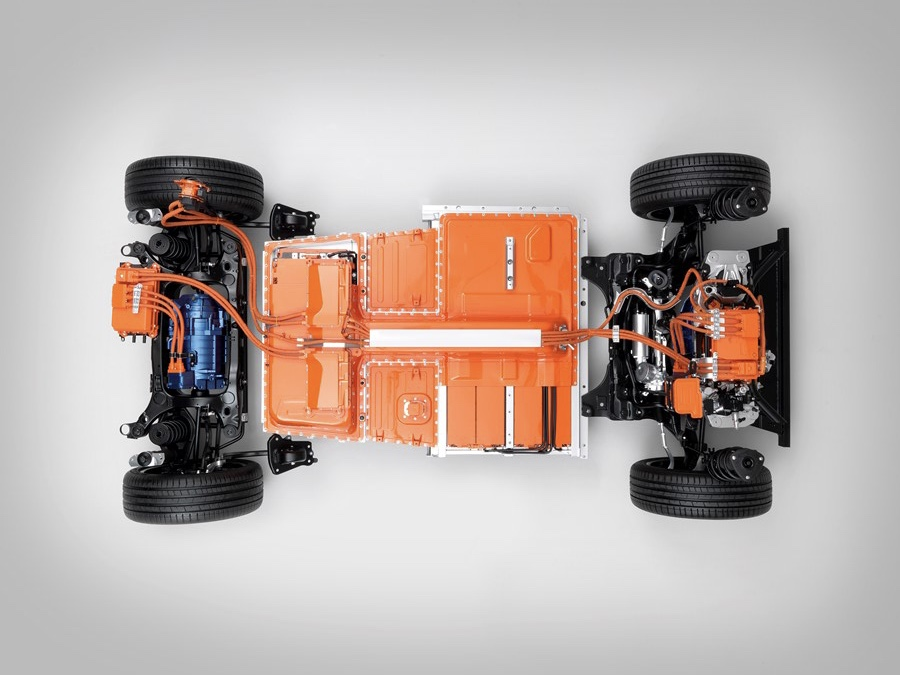 Pohonná sústava Volvo XC40