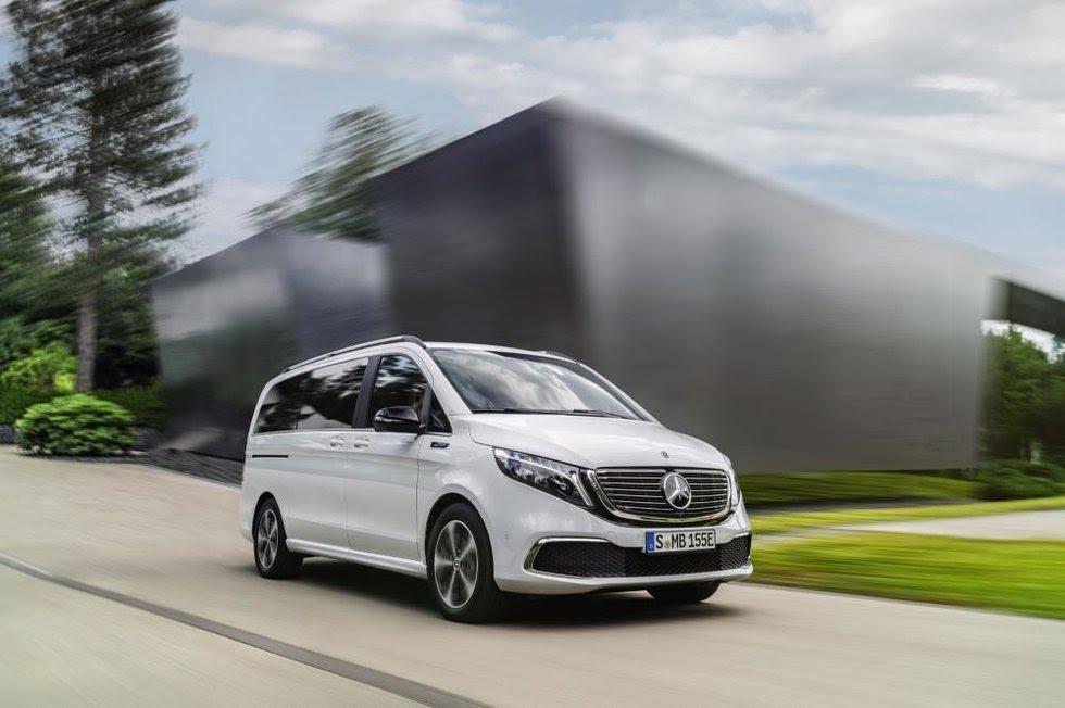 Elektrický van Meecedes-Benz EQV sľubuje dojazd až 450 km (WLTP)