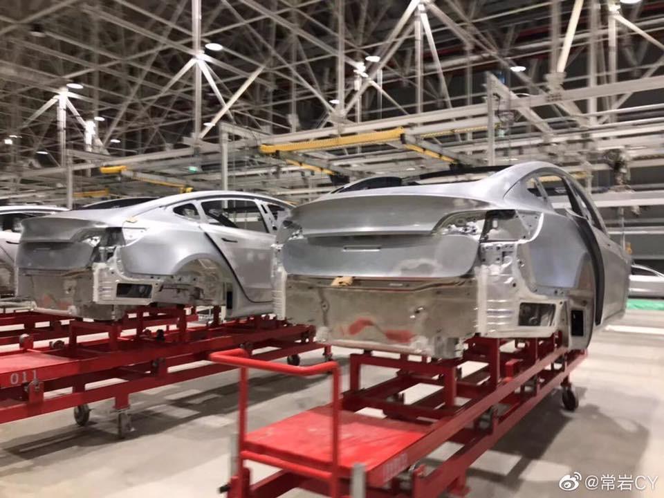 vyroba Tesla Model 3