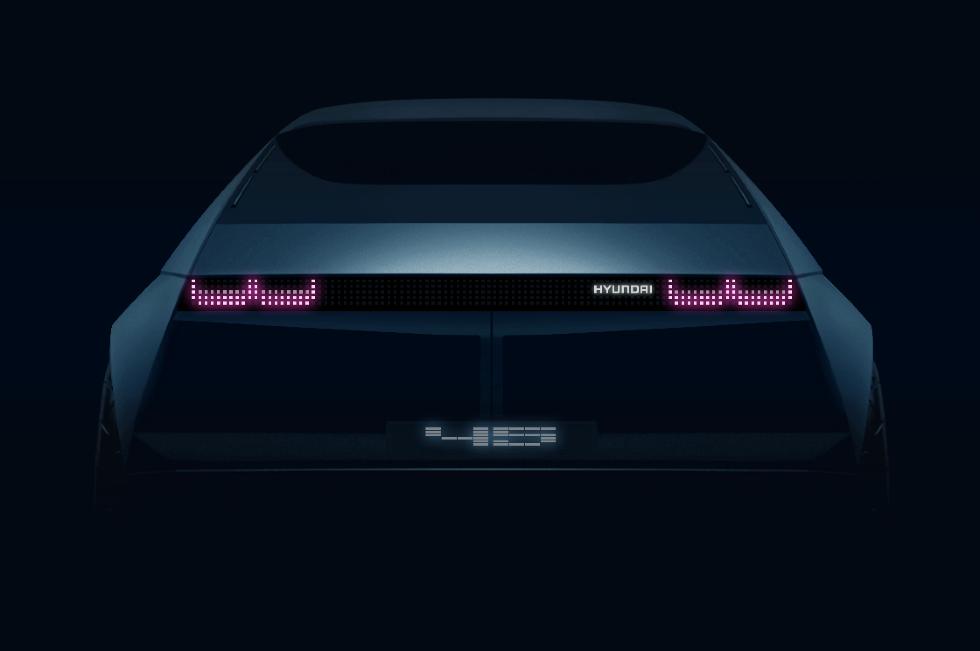Koncet 45 EV predstaví nový dzajnový jazyk Hyundai
