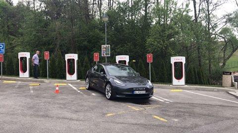 Tesla Supercharger Sielnica (okres Zvolen)