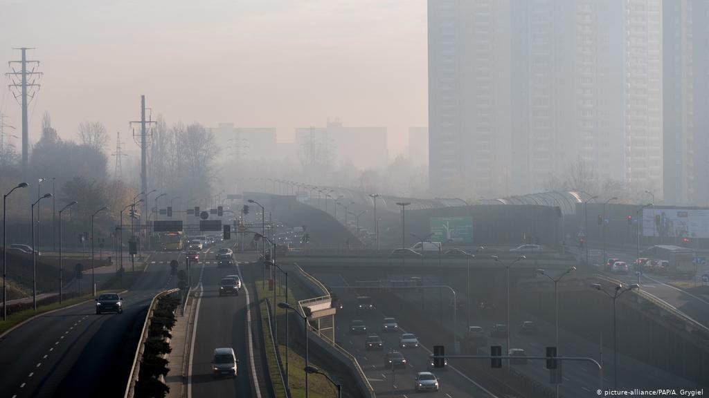 Smog v Poľsku (Katowice)