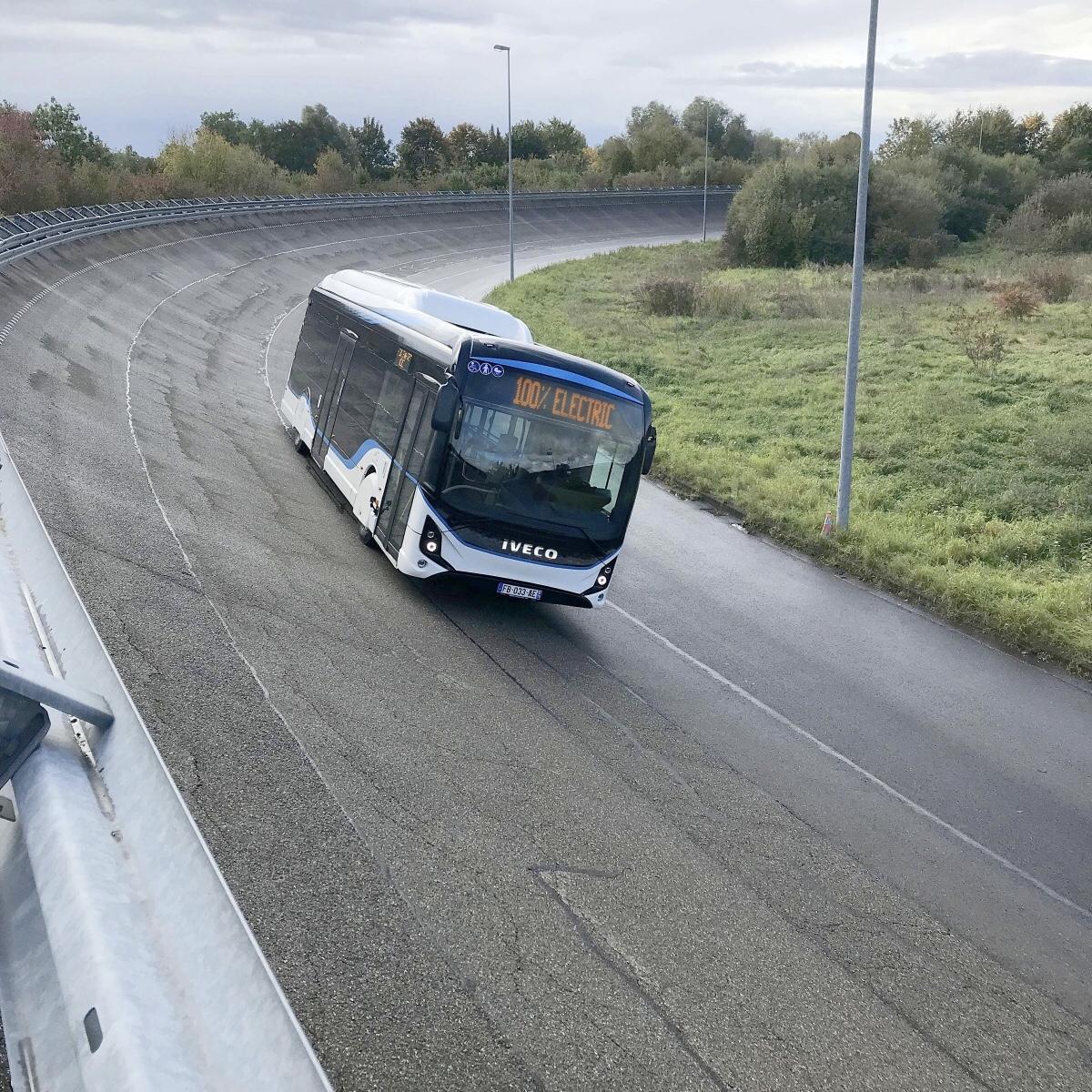 Testovanie - Elektrobus Iveco e-way