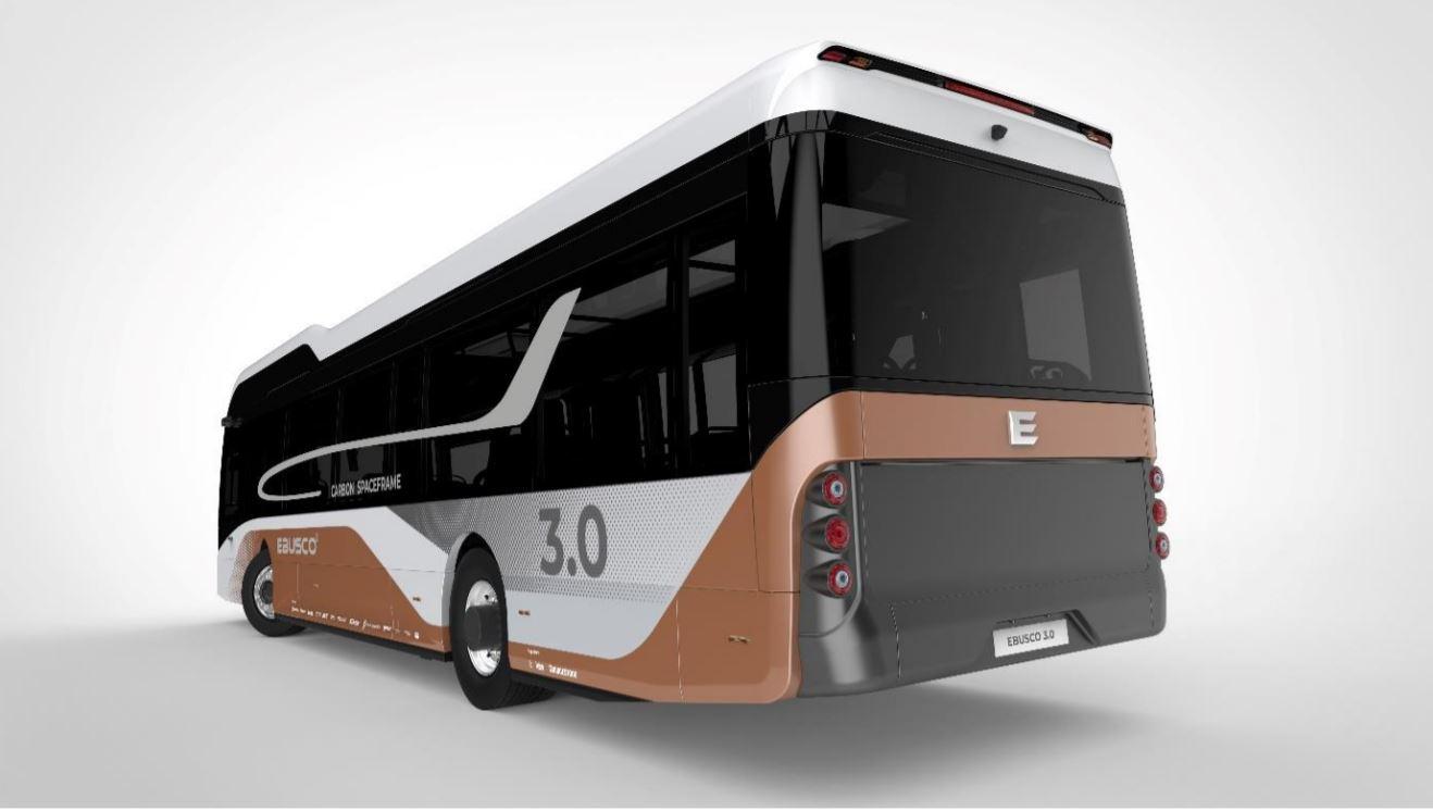 elektrický autobus Ebusco 3.0