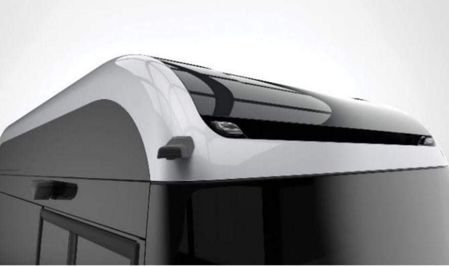 Kamerový systém namieto spätných zrkadiel - Ebusco 3.0