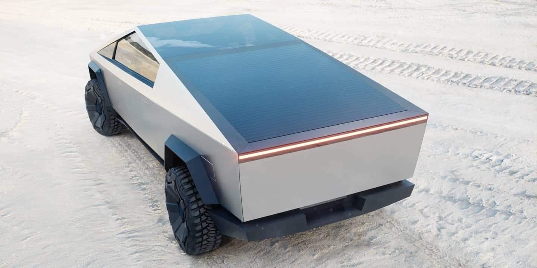 Kryt zadnej korby Tesla Cybertruck
