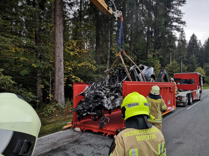 Havária Tesly v Tirolsku