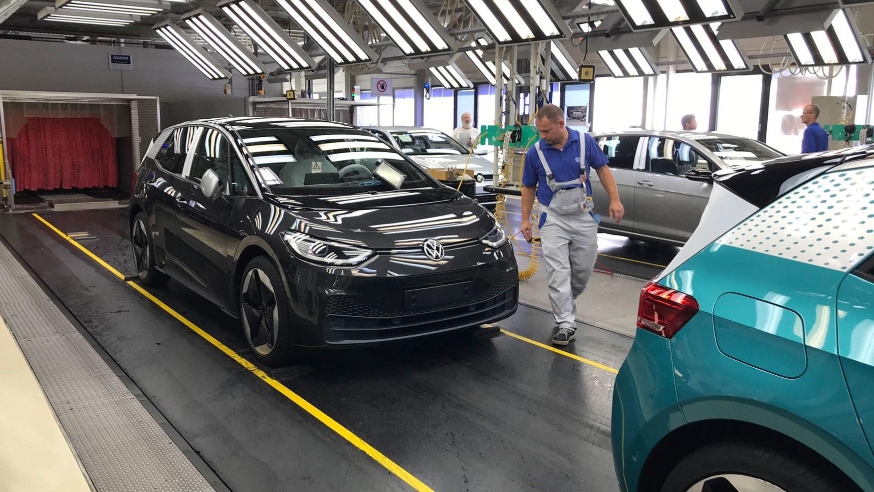 Výroba VW ID.3