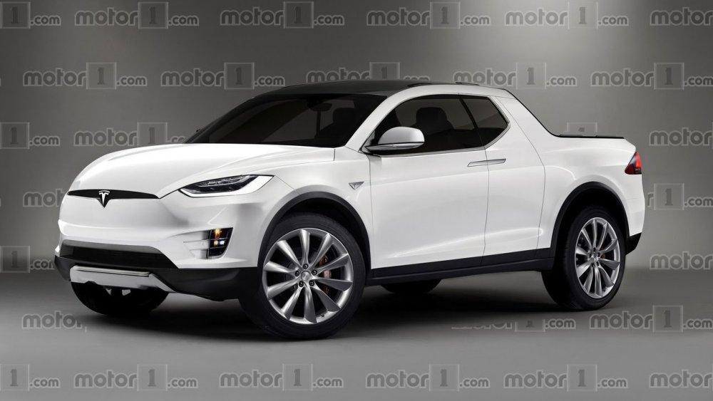 Oficiálna vizualizácia Tesla pickupu
