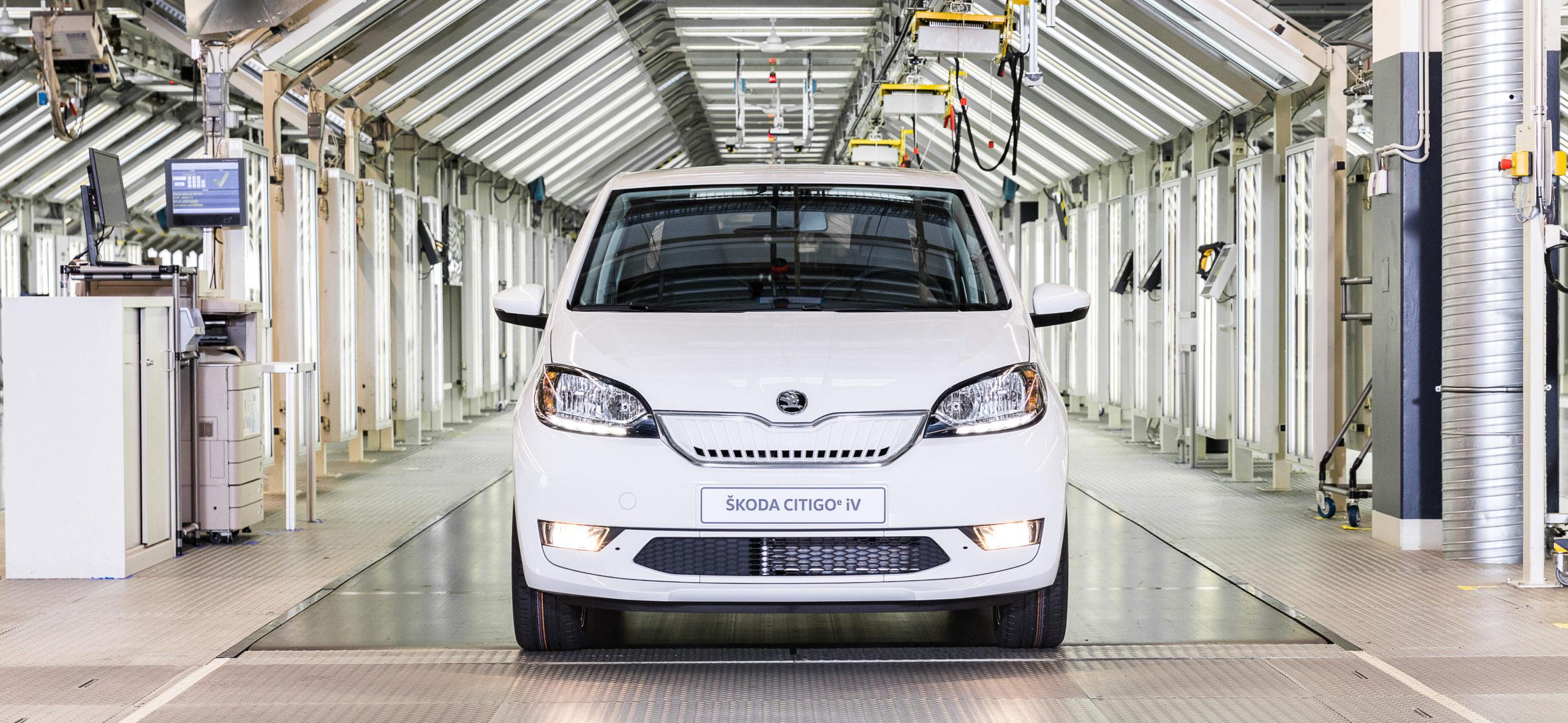 elektromobily Škoda Citigoe iV (Foto: VW Slovensko)