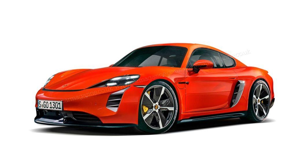 Porsche 718 elektromobil