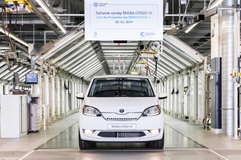 Škoda Citigoe iV v Bratislave