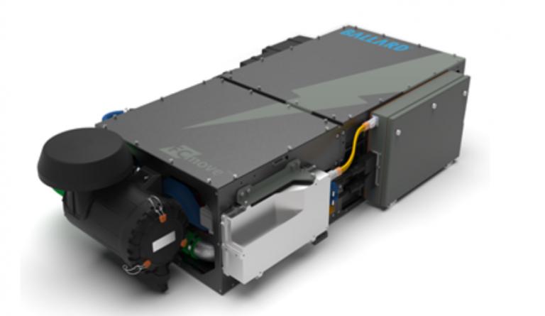 Vodíkový pohonný modul Ballard FCmove