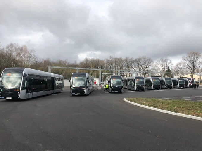 Autobusy Irizar s vodíkovým pohonom Ballard