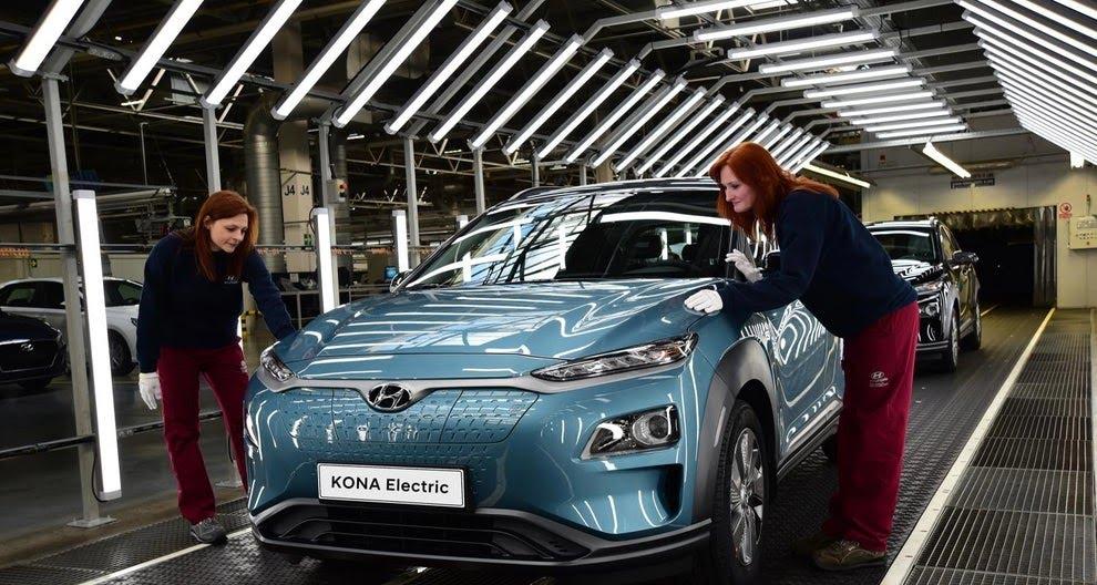 Hyundai kona electric výroba