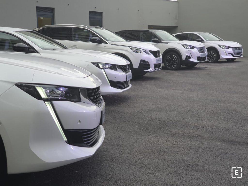 Peugeot elektrické modely