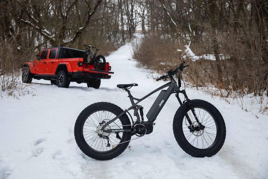 E-bike Jeep