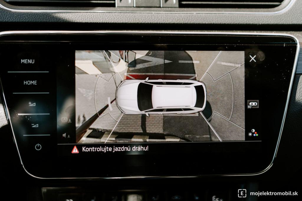 parkovacia kamera