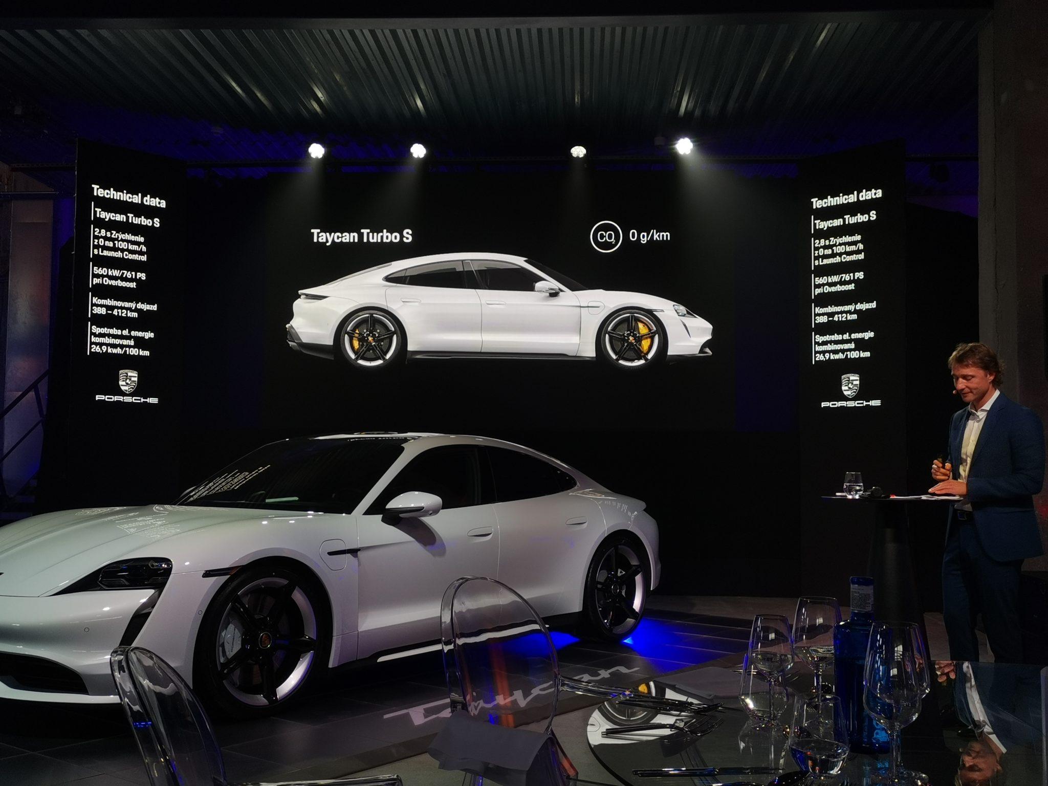 Porsche Taycan na Slovensku
