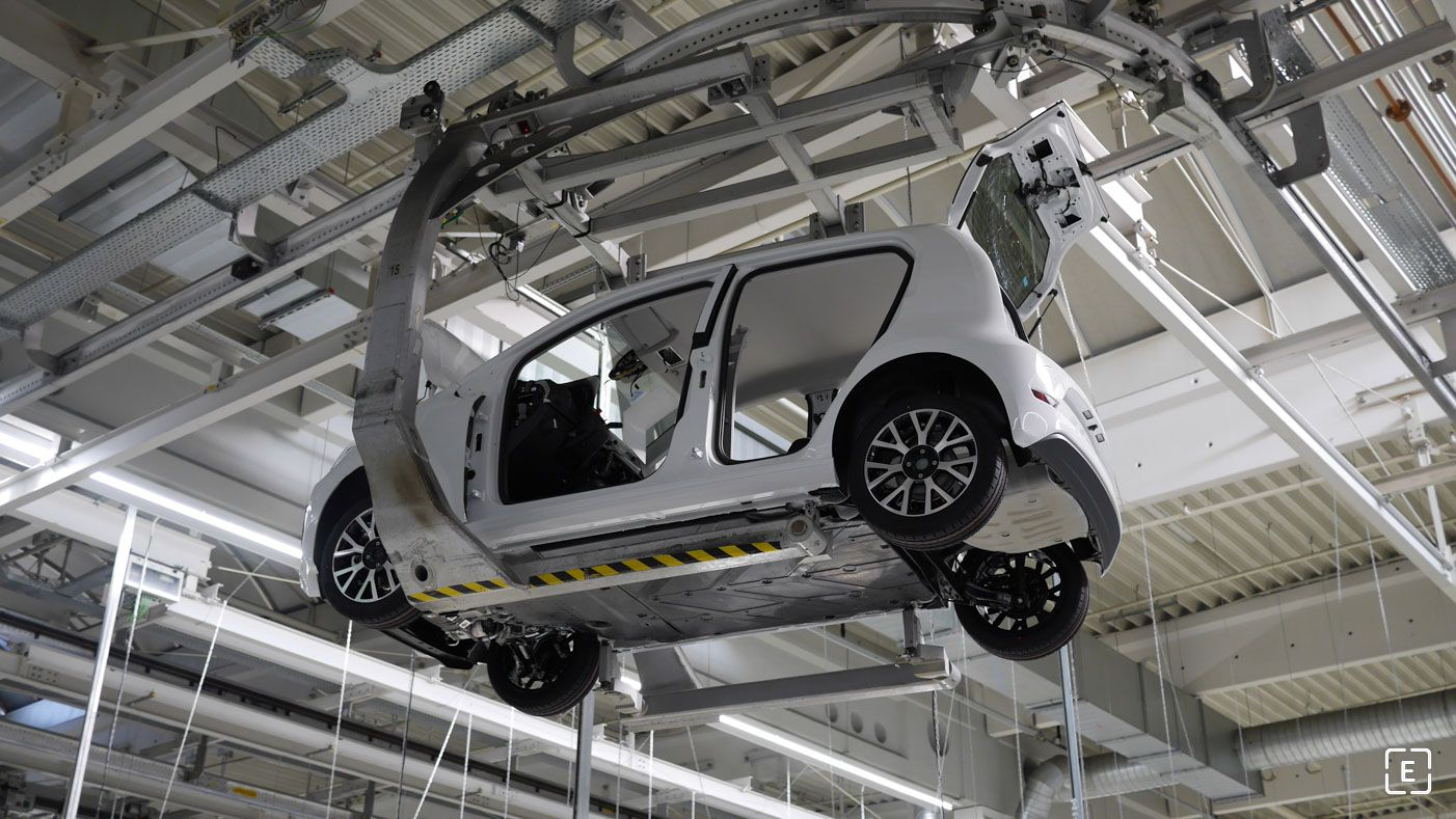 Výroba VW e-Up! v Bratislave