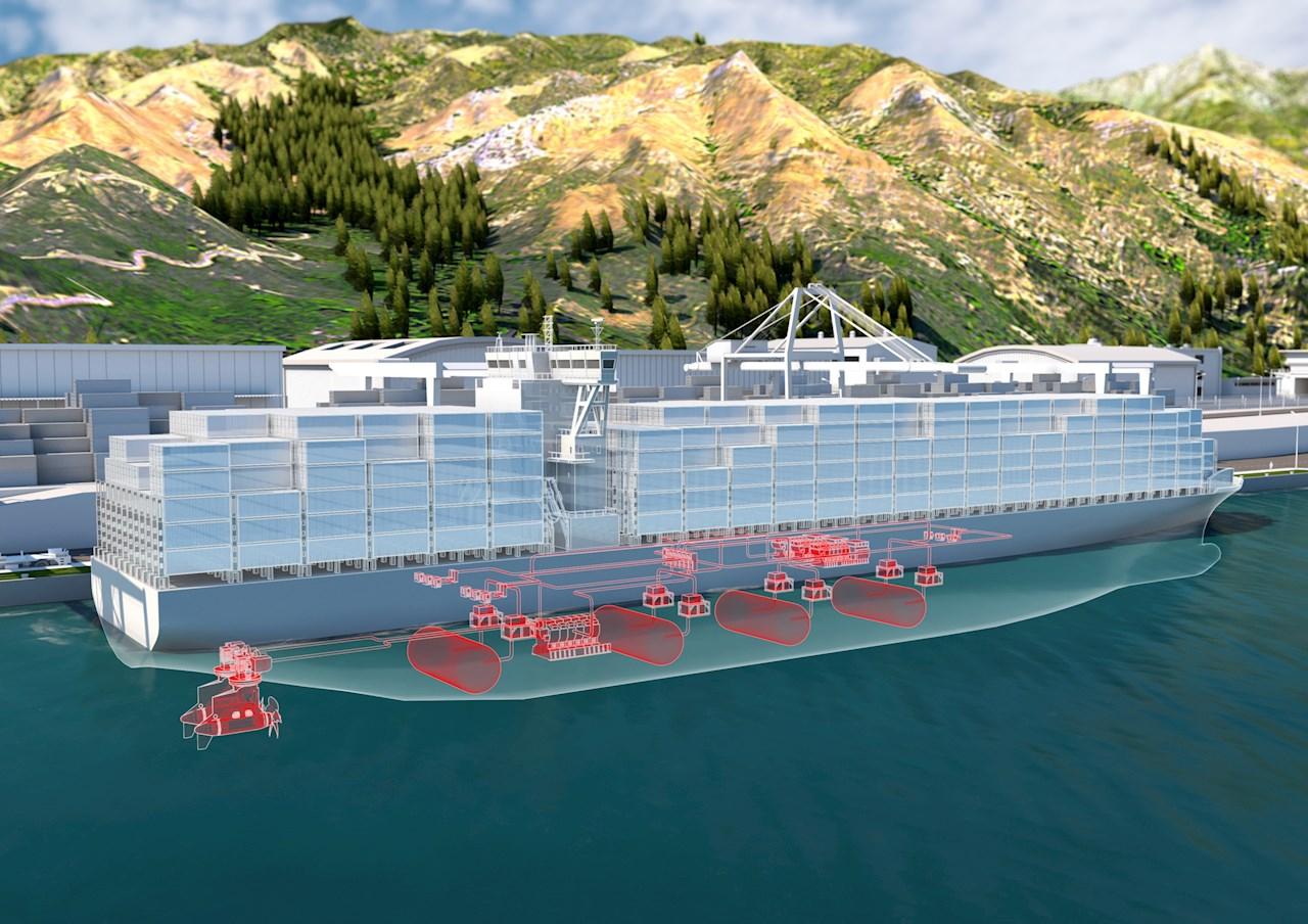 Systém palivových článkov pre lode ABB