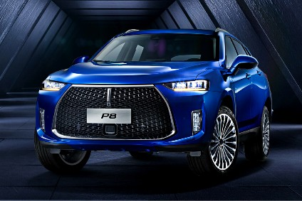 Great Wall Wey P8 plug-in hybrid