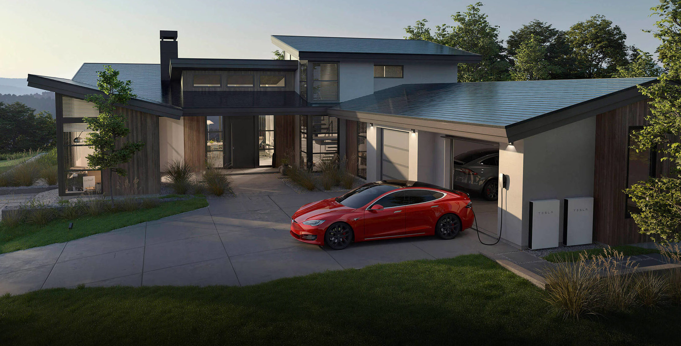 Tesla solárna strecha