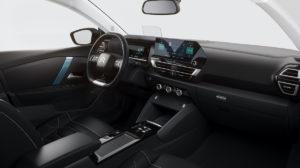 Citroen e-C4 elektromobil interiér
