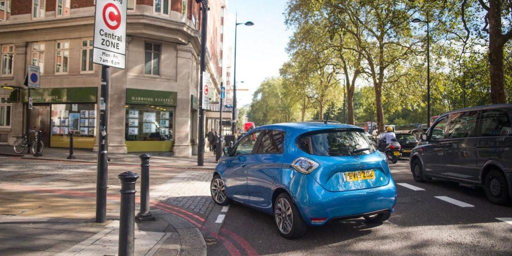 Renault Zoe v Londýne